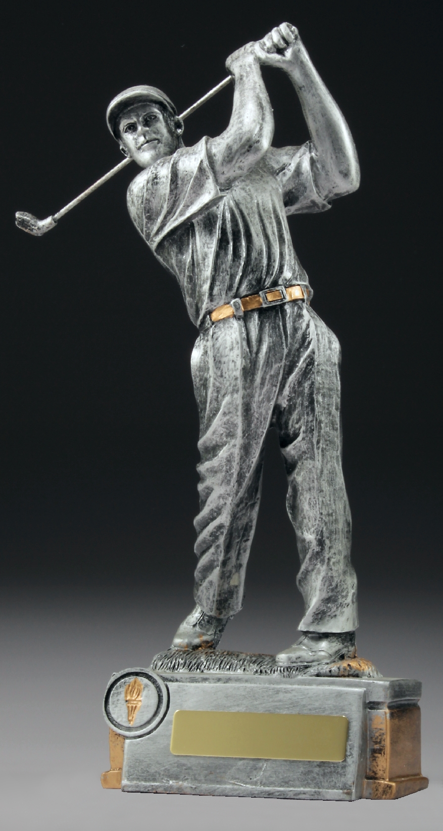 Male Golfer RESIN Golf NSW
