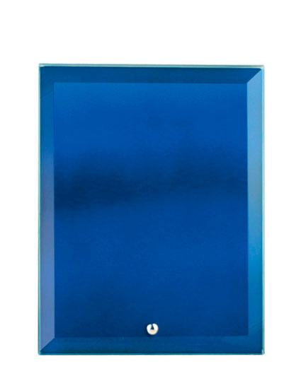 Glass Rectangle BLUE Glass NSW