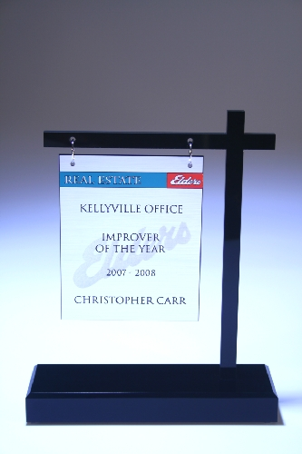 Real Estate Custom Desktop and Plaques NSW
