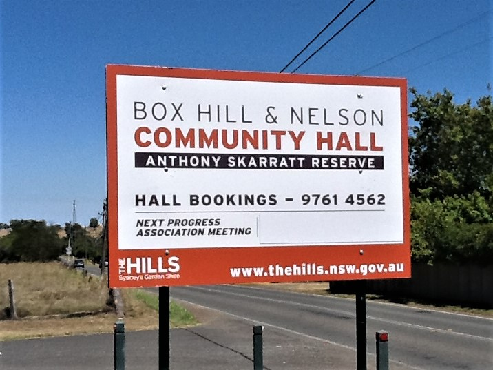 Box Hill Community Centre General Signage NSW