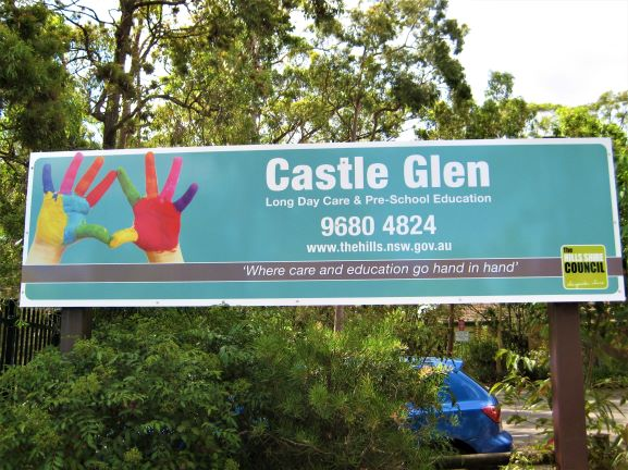 Child Care Centres General Signage NSW