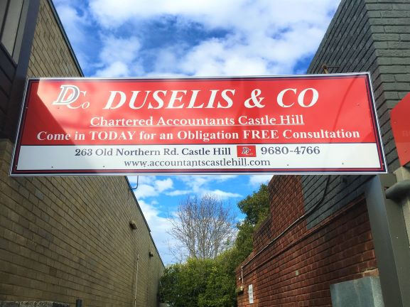 Duselis & Co General Signage NSW