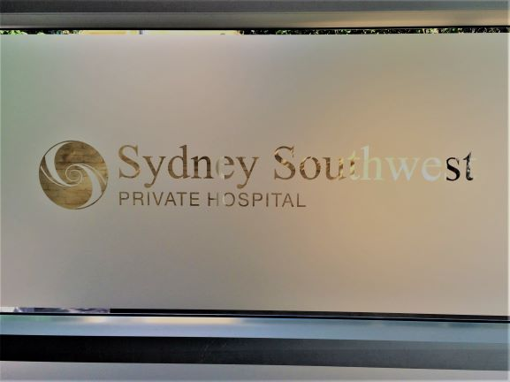 Frosted Glass General Signage NSW