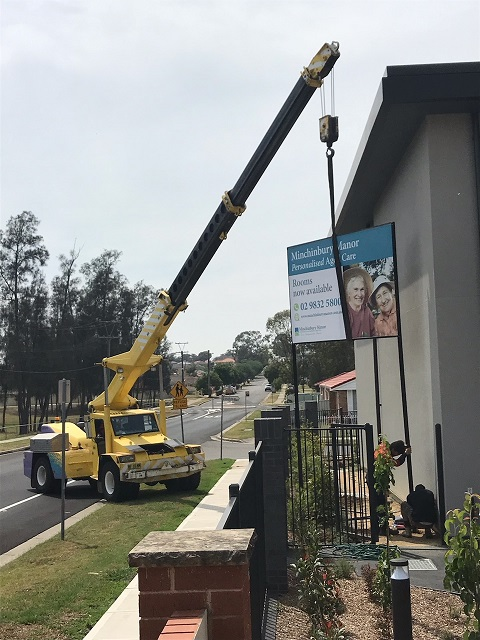 Minchinbury Manor Sign Custom Signage and Display NSW