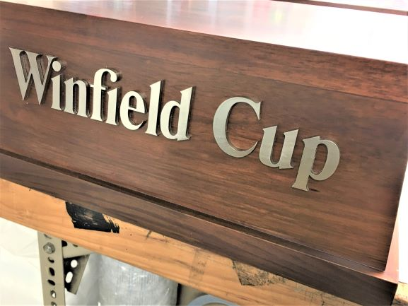 Winfield Cup Replica Laser Cut Letters & Shapes NSW
