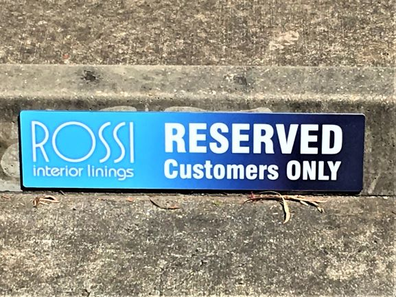Reserved Parking Signs General Signage NSW