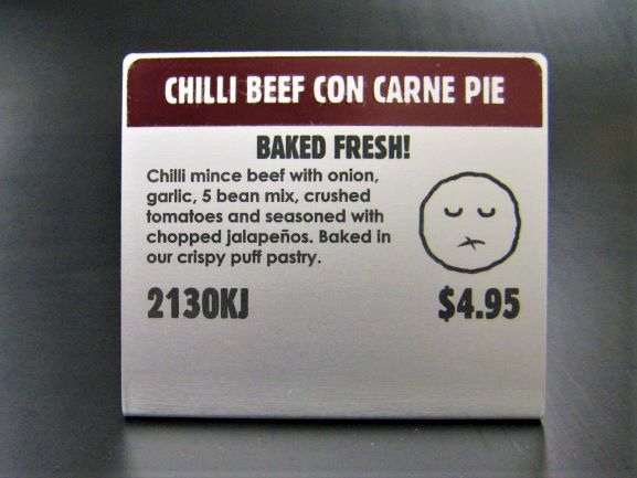 Pie Face Warmer Labels Labels & Tags NSW