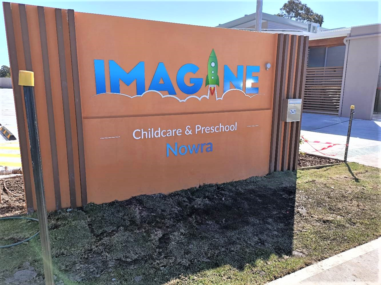 Imagine Child Care Custom Signage and Display NSW
