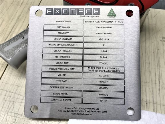 Exotech Label Labels & Tags NSW
