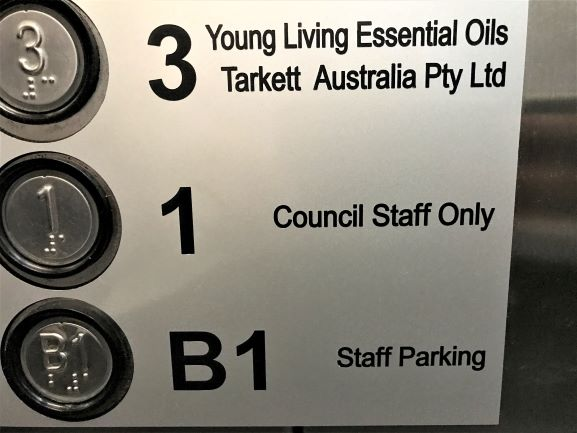 Lift Label Labels & Tags NSW