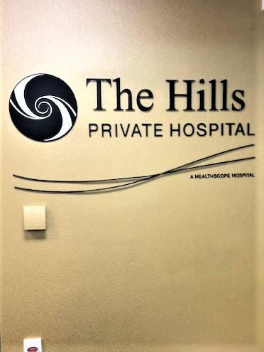 Hills Private Reception Laser Cut Letters + Logos NSW
