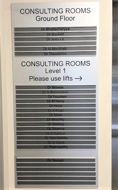 Northside Consulting Rooms Directories NSW