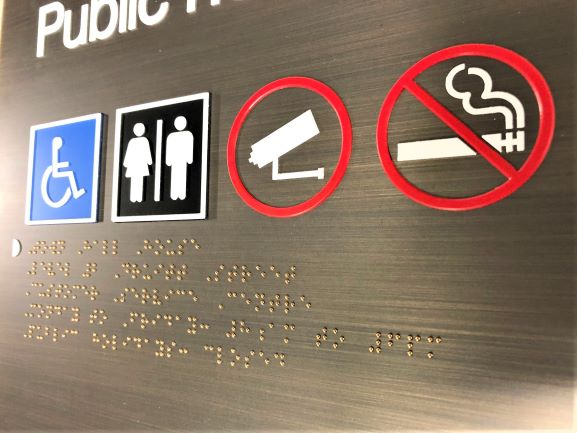 Bronze Braille Custom Signage and Display NSW