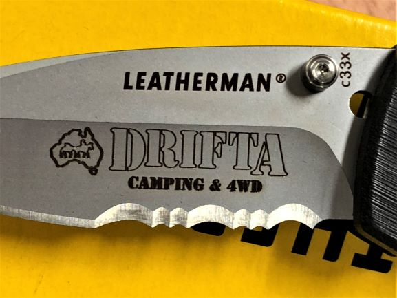 Leatherman 2 Laser Engraving NSW