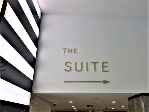 Warringah Mall The SUITE Laser Cut Letters + Logos NSW
