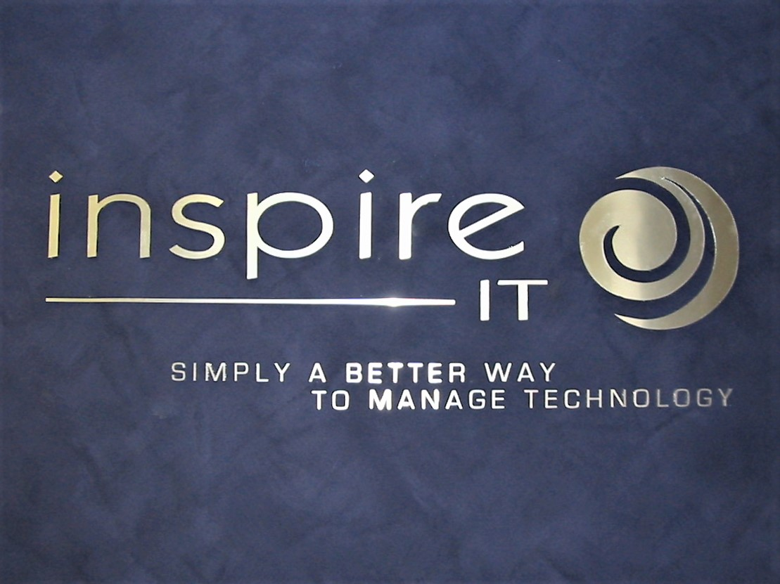 Inspire IT Reception Signage NSW