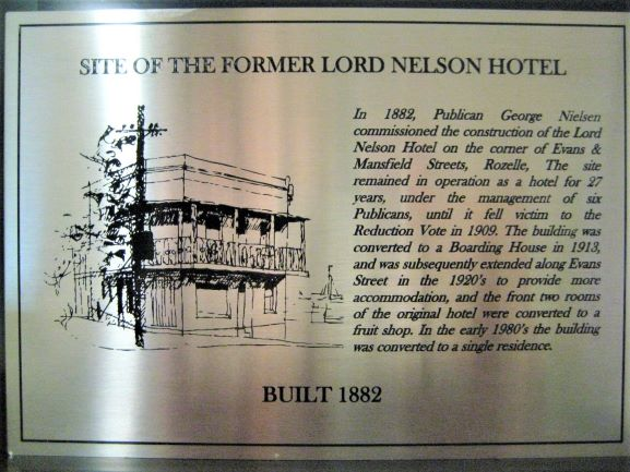 Lord Nelson Sandblast/Etched NSW