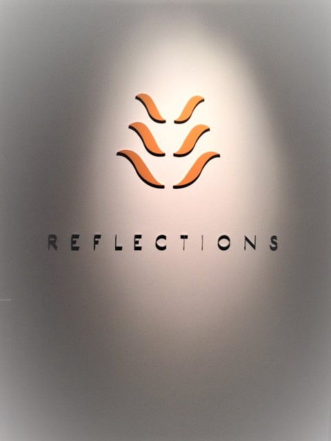 Reflections SPA 1 Reception Signage NSW