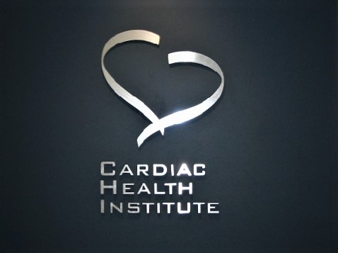 Cardiac Health Reception Signage NSW