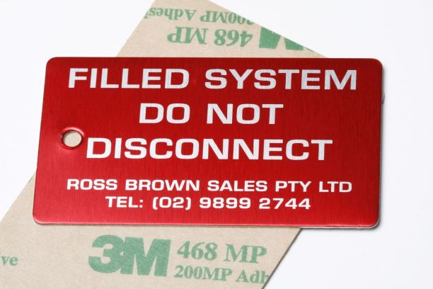 Ross Brown Label Labels & Tags NSW