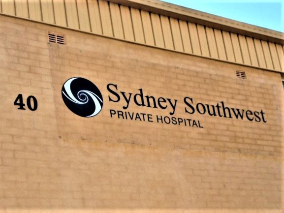 Sydney Southwest Private Hospital Laser Cut Letters & Shapes NSW