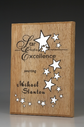 Star of Excellence Custom Desktop and Plaques NSW