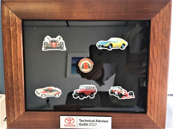 Toyota Lapel Pins + Display Custom Signage and Display NSW