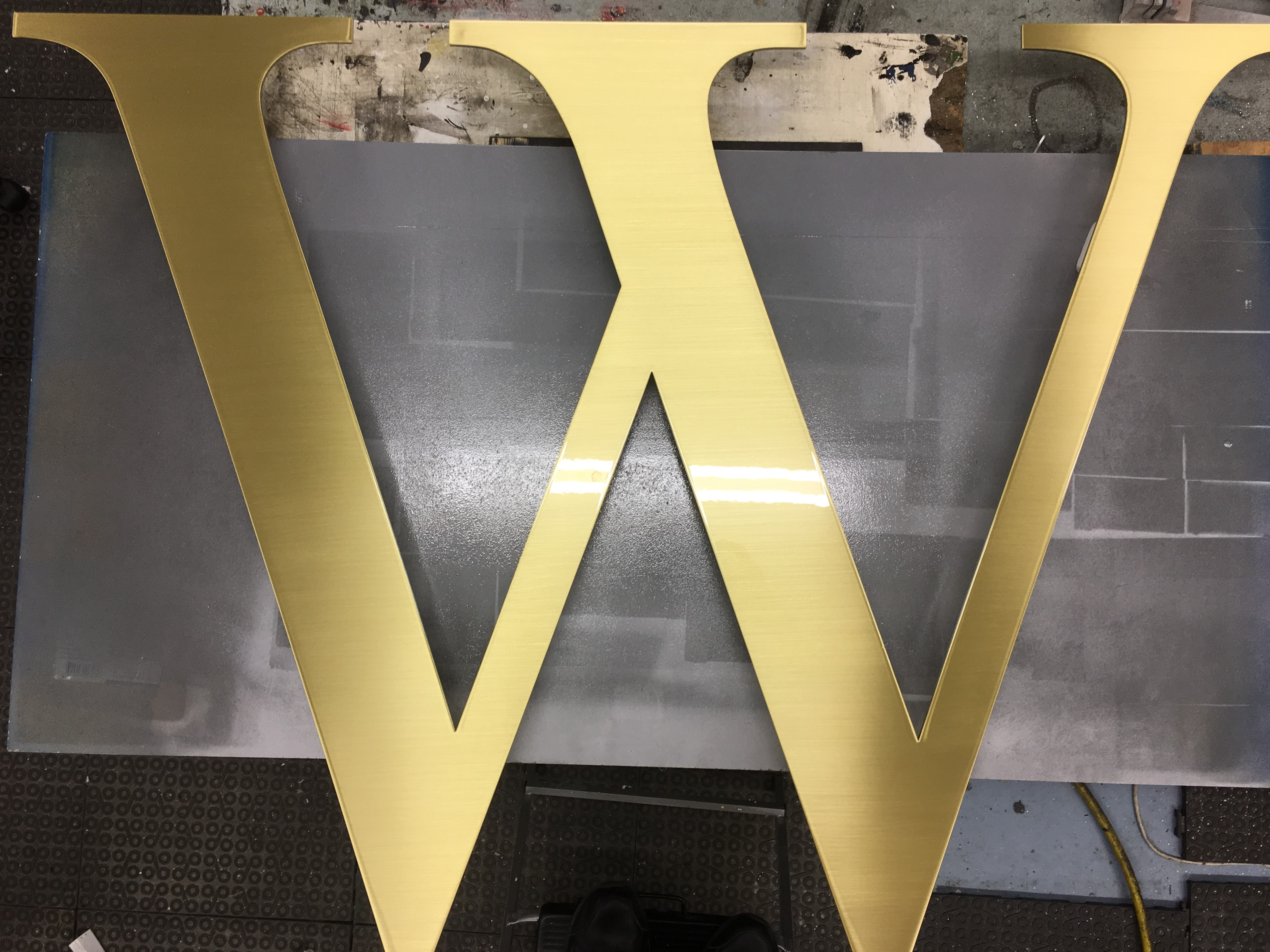 Warringah Mall Laser Cut Letters & Shapes NSW