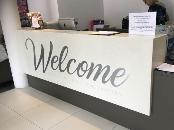 WELCOME Laser Cut Letters + Logos NSW